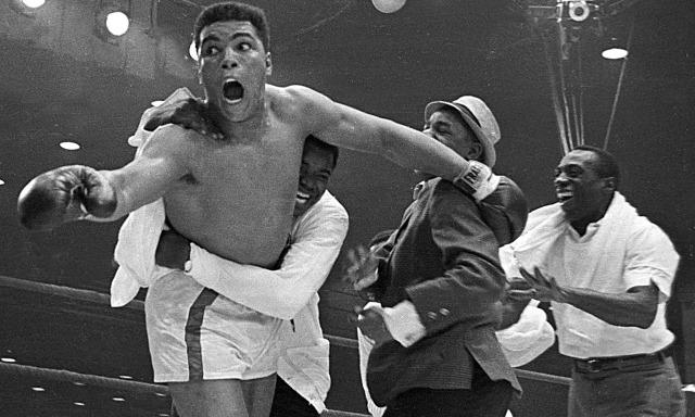 Muhammad Ali v Sonny Liston